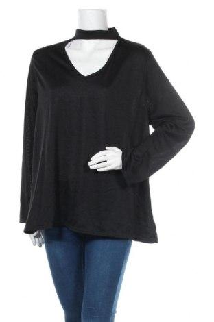 Дамска блуза B.You, Размер L, Цвят Черен, 95% полиестер, 5% еластан, Цена 14,72лв.