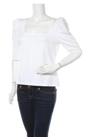 Γυναικεία μπλούζα Banana Republic, Μέγεθος L, Χρώμα Λευκό, 65% βαμβάκι, 28% μοντάλ, 7% ελαστάνη, Τιμή 25,98€