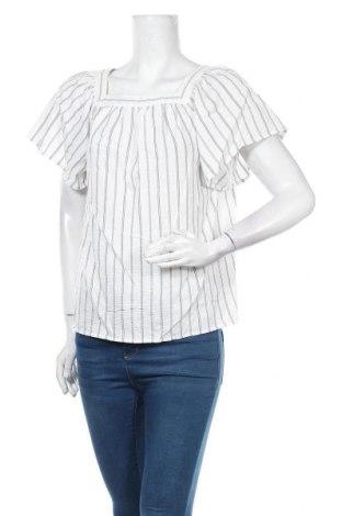 Γυναικεία μπλούζα Banana Republic, Μέγεθος XS, Χρώμα Λευκό, 52% πολυεστέρας, 47% βισκόζη, 1% ελαστάνη, Τιμή 8,64€