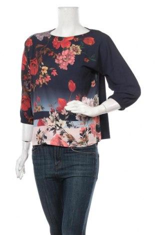 Дамска блуза Betty & Co, Размер S, Цвят Син, 50% памук, 50% модал, Цена 22,08лв.