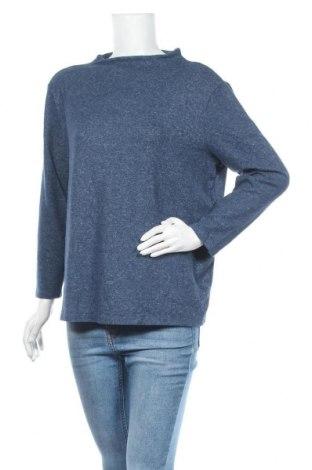 Дамска блуза Betty & Co, Размер XL, Цвят Син, 80% вискоза, 15% полиестер, 5% еластан, Цена 15,17лв.