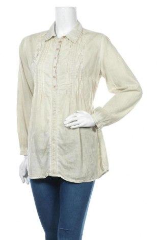 Γυναικεία μπλούζα Charles Vogele, Μέγεθος L, Χρώμα  Μπέζ, Βαμβάκι, Τιμή 11,69€