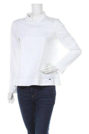 Дамска блуза Cinque, Размер M, Цвят Бял, 66% памук, 30% полиамид, 4% еластан, Цена 37,91лв.
