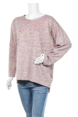 Дамска блуза Creme Fraiche, Размер XL, Цвят Розов, Цена 15,96лв.