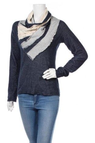 Γυναικεία μπλούζα Desigual, Μέγεθος M, Χρώμα Μπλέ, Τιμή 20,88€