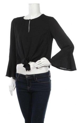 Дамска блуза Dotti, Размер M, Цвят Черен, Полиестер, Цена 3,00лв.