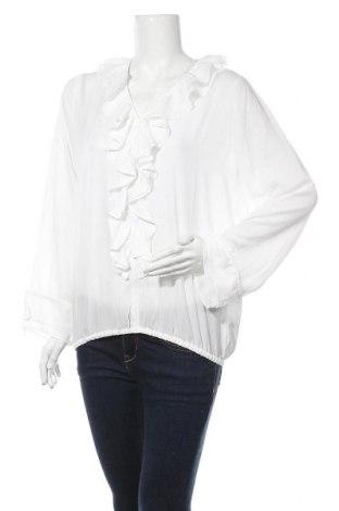 Дамска блуза Esqualo, Размер M, Цвят Бял, Полиестер, Цена 3,00лв.