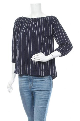 Дамска блуза Free Quent, Размер S, Цвят Син, Вискоза, Цена 15,12лв.