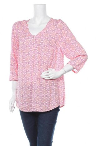 Γυναικεία μπλούζα Gina Laura, Μέγεθος XL, Χρώμα Πολύχρωμο, Βισκόζη, Τιμή 11,69€