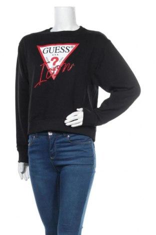 Γυναικεία μπλούζα Guess, Μέγεθος M, Χρώμα Μαύρο, Βαμβάκι, Τιμή 42,14€
