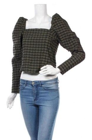 Γυναικεία μπλούζα H&M, Μέγεθος S, Χρώμα Πράσινο, 62% βαμβάκι, 34% πολυεστέρας, 4% πολυαμίδη, Τιμή 12,06€