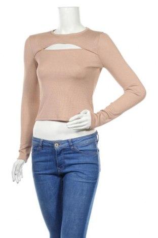 Γυναικεία μπλούζα H&M Divided, Μέγεθος S, Χρώμα  Μπέζ, Πολυεστέρας, Τιμή 12,34€