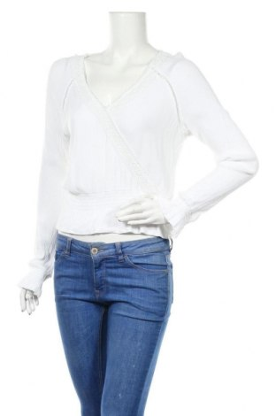 Γυναικεία μπλούζα H&M Divided, Μέγεθος M, Χρώμα Λευκό, Βισκόζη, Τιμή 10,67€