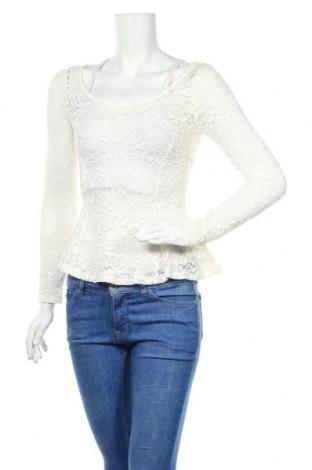 Γυναικεία μπλούζα H&M Divided, Μέγεθος S, Χρώμα Λευκό, 98% πολυαμίδη, 2% ελαστάνη, Τιμή 7,27€