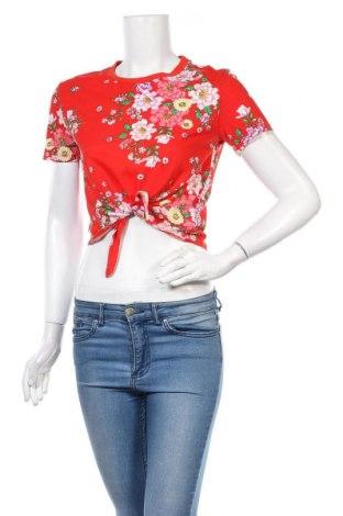 Γυναικεία μπλούζα H&M Divided, Μέγεθος S, Χρώμα Κόκκινο, Βαμβάκι, Τιμή 3,03€