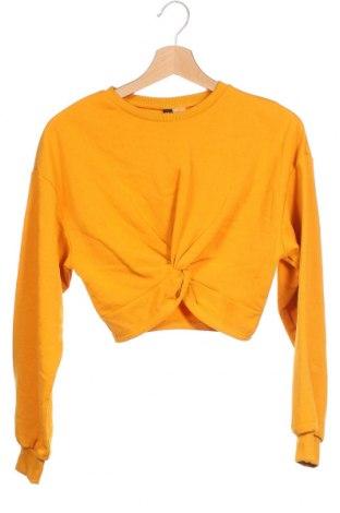 Γυναικεία μπλούζα H&M Divided, Μέγεθος XS, Χρώμα Κίτρινο, 65% βαμβάκι, 35% πολυεστέρας, Τιμή 4,32€
