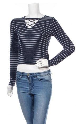 Γυναικεία μπλούζα Hollister, Μέγεθος S, Χρώμα Μπλέ, 56% βαμβάκι, 38% πολυεστέρας, 6% ελαστάνη, Τιμή 11,60€