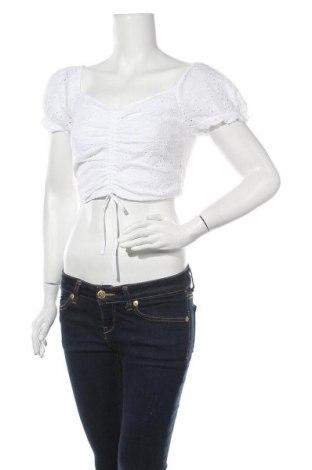 Γυναικεία μπλούζα Hollister, Μέγεθος S, Χρώμα Λευκό, Βαμβάκι, Τιμή 13,07€
