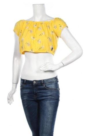 Γυναικεία μπλούζα Hollister, Μέγεθος M, Χρώμα Κίτρινο, Βαμβάκι, Τιμή 12,73€