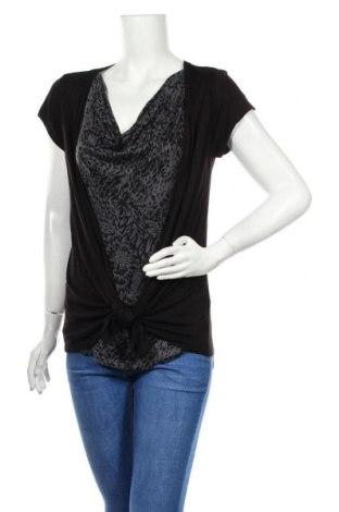 Дамска блуза Hot Options, Размер M, Цвят Черен, Вискоза, Цена 6,98лв.