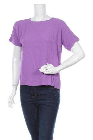 Дамска блуза Modstrom, Размер S, Цвят Лилав, Вискоза, Цена 11,80лв.