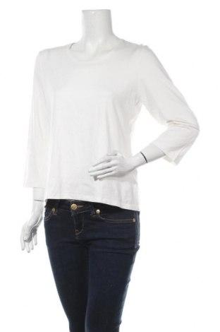 Дамска блуза Monari, Размер L, Цвят Бял, 95% вискоза, 5% еластан, Цена 23,21лв.