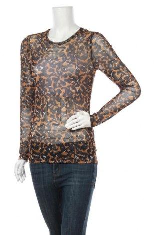 Дамска блуза Object, Размер L, Цвят Многоцветен, 95% полиестер, 5% еластан, Цена 16,64лв.