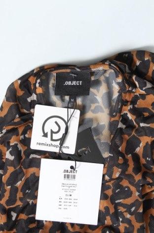 Дамска блуза Object, Размер M, Цвят Многоцветен, 95% полиестер, 5% еластан, Цена 36,75лв.