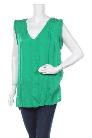 Дамска блуза October, Размер XL, Цвят Зелен, Вискоза, Цена 9,72лв.