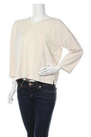 Дамска блуза Part Two, Размер M, Цвят Бежов, 80% памук, 20% полиестер, Цена 36,75лв.