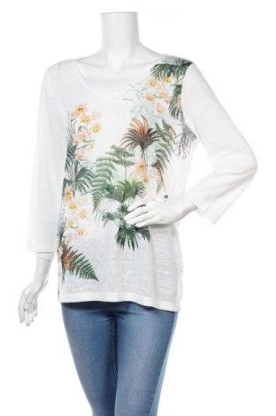 Γυναικεία μπλούζα Saint Tropez, Μέγεθος L, Χρώμα Λευκό, Πολυεστέρας, Τιμή 22,73€