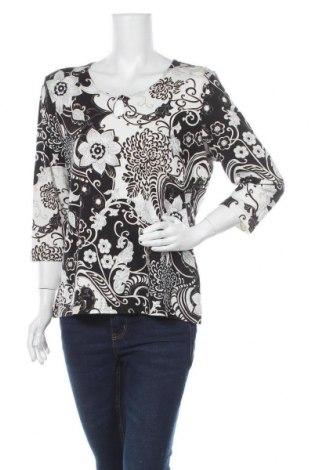 Дамска блуза Samoon By Gerry Weber, Размер XL, Цвят Многоцветен, 94% вискоза, 6% еластан, Цена 22,05лв.