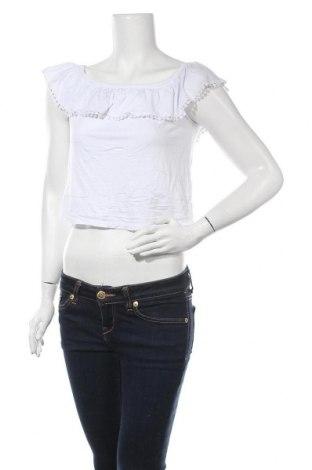 Дамска блуза Supre, Размер L, Цвят Бял, 95% вискоза, 5% еластан, Цена 6,56лв.