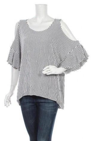 Дамска блуза Sussan, Размер XXL, Цвят Бял, 85% вискоза, 15% полиестер, Цена 18,90лв.
