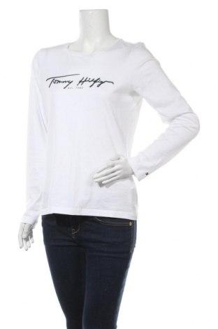 Γυναικεία μπλούζα Tommy Hilfiger, Μέγεθος S, Χρώμα Λευκό, Βαμβάκι, Τιμή 33,49€