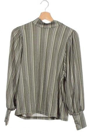 Дамска блуза Vrs Woman, Размер XS, Цвят Зелен, 95% полиестер, 5% еластан, Цена 7,38лв.