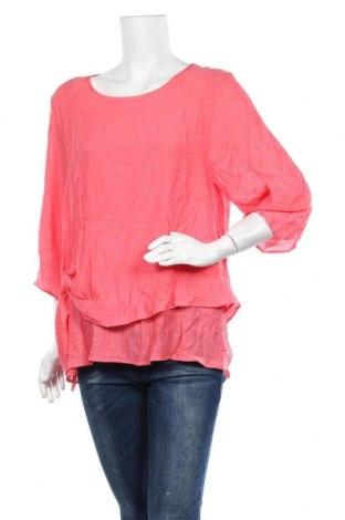 Дамска блуза Wishstone, Размер S, Цвят Розов, Памук, вискоза, Цена 12,50лв.