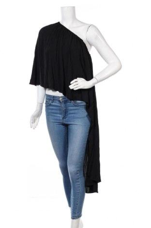 Γυναικεία μπλούζα Zara, Μέγεθος M, Χρώμα Μαύρο, Βισκόζη, Τιμή 18,19€