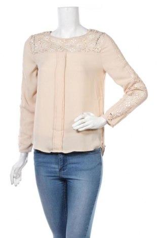 Γυναικεία μπλούζα Zara, Μέγεθος S, Χρώμα  Μπέζ, Τιμή 14,84€