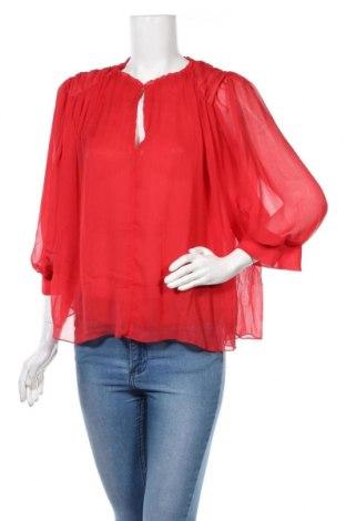 Γυναικεία μπλούζα Zara, Μέγεθος XS, Χρώμα Κόκκινο, Τιμή 16,70€