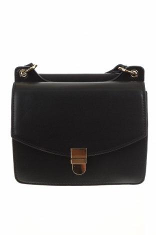Дамска чанта, Цвят Черен, Еко кожа, Цена 21,84лв.