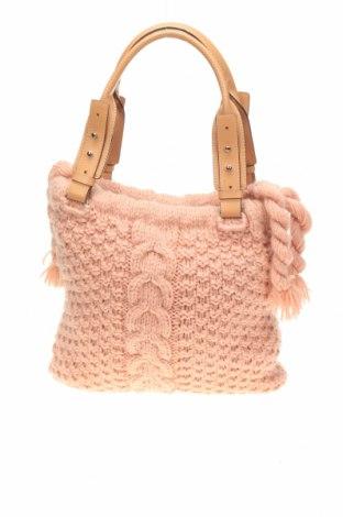 Дамска чанта, Цвят Розов, Текстил, Цена 22,05лв.