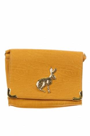 Γυναικεία τσάντα ASOS, Χρώμα Κίτρινο, Δερματίνη, Τιμή 17,63€