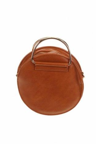 Дамска чанта Anko, Цвят Кафяв, Еко кожа, Цена 14,49лв.