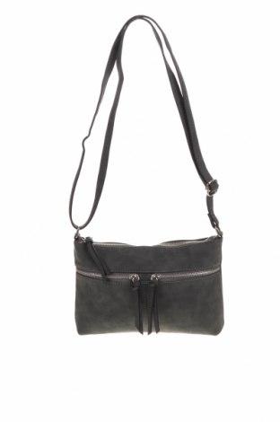 Дамска чанта B Collection, Цвят Сив, Еко кожа, Цена 15,02лв.