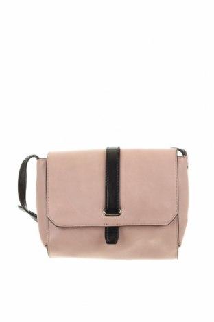 Дамска чанта Basque, Цвят Розов, Еко кожа, Цена 14,18лв.