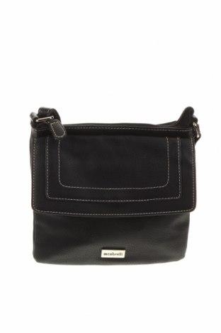 Дамска чанта Cabrelli, Цвят Черен, Еко кожа, Цена 18,43лв.