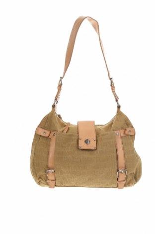 Γυναικεία τσάντα Calvin Klein Jeans, Χρώμα  Μπέζ, Κλωστοϋφαντουργικά προϊόντα, δερματίνη, Τιμή 29,69€