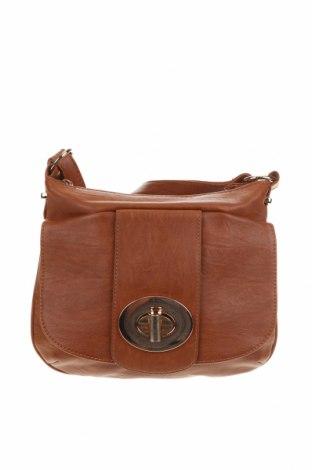 Дамска чанта Colette By Colette Hayman, Цвят Кафяв, Еко кожа, Цена 28,56лв.