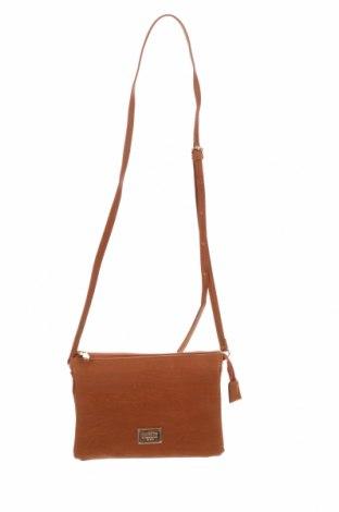 Дамска чанта Colette By Colette Hayman, Цвят Кафяв, Еко кожа, Цена 17,75лв.